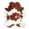 Bianco/marrone - Pelli a pelo naturali