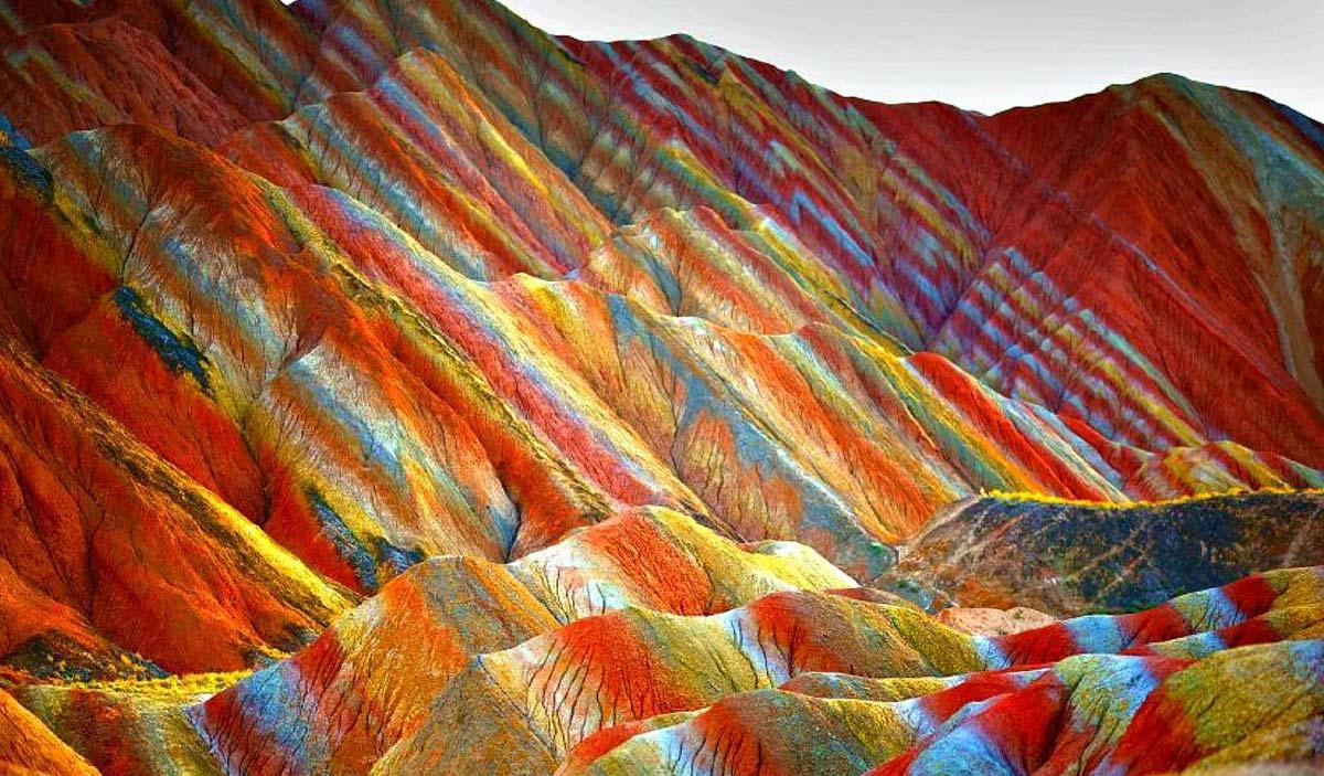 Una montagna di colori